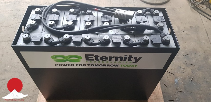 Ắc quy Eternity 48V-300Ah, Model 4PzB300